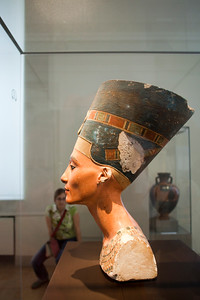 Bust of the queen Nefertiti, Altes Museum, Berlin, Germany