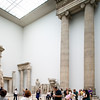 Room with Hellenistic architecture fragments from Magnesia and Priene, Pergamon Museum, Berlin, Germany
