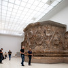 Ruins of the palace of Mshatta (Jordan, 8th century AD), Pergamon Museum, Berlin, Germany