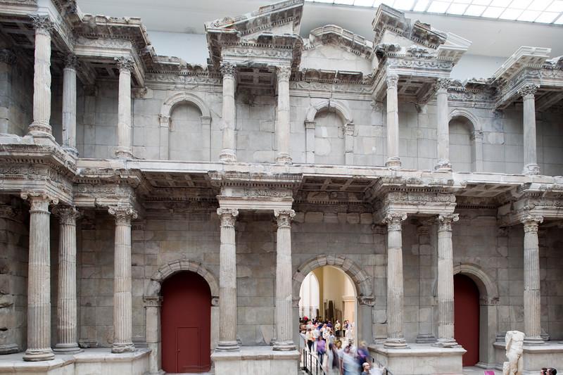 Market Gate of Miletus, Roman work (120 AD), Pergamon Museum, Berlin, Germany