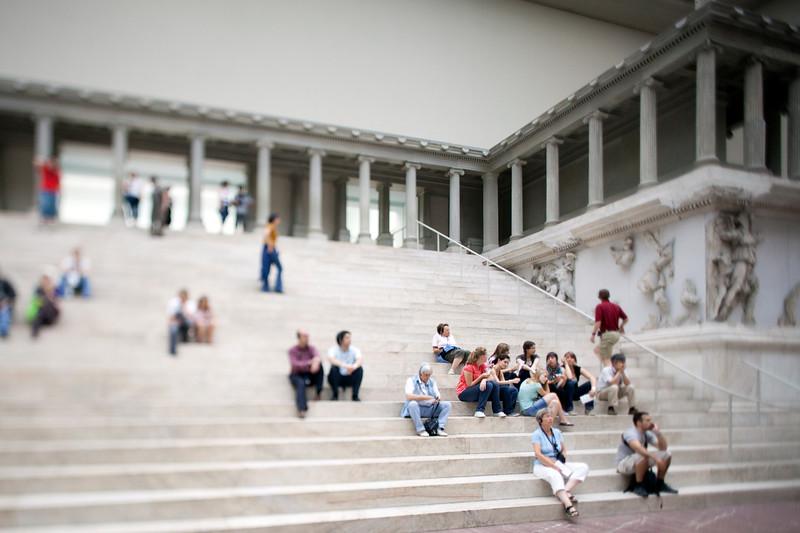 Pergamon altar in the Pergamon Museum, Berlin, Germany