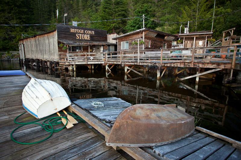 BC-2011-100: Refuge Cove, Desolation Sound, BC, Canada