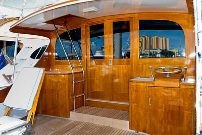 "54' Rybovich Hull # 72 ""Sea Hut"". Built 1970. This image was shot for the Rybovich Book. All images are available for download. Please contact me."