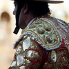 Picador bullfighter. Bullfight at Real Maestranza bullring, Seville, Spain, 15 August 2006.