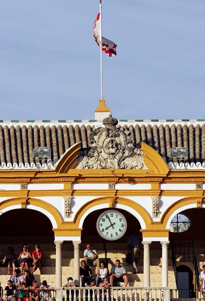 Real Maestranza bullring, Seville, Spain.