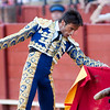 The Spanish bullfighter Fernandez Pineda, Real Maestranza bullring, Seville, autonomous community of Andalusia, southern Spain