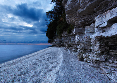 Northport Area Shoreline (Door County - Wisconsin)