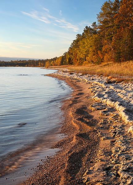 Newport State Park Shoreline (Door County - Wisconsin)