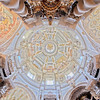 Dome of San Luis de los Franceses church (18th century), Seville, Spain
