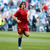 Puyol warming up before the UEFA Champions League Semifinals game between Real Madrid and FC Barcelona, Bernabeu Stadiumn, Madrid, Spain
