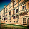 Typical Venetian houses, San Polo, Venice, Italy