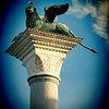 The Winged Lion on the Piazzetta, Venice, Italy