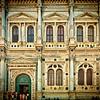 Main facade of Scuola Grande di San Rocco, Venice, Italy