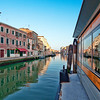 Boat stop, Cannaregio Canal, Venice, Italy