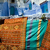Berber carpets for sale, Chefchaouen, Morocco