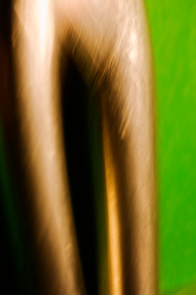 Extreme closeup of scissors. Abstract image taken with a high magnification macro lens.