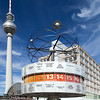 Urania Weltzeituhr (World Time Clock), Alexanderplatz, Berlin, Germany