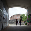 Passageway facing Museum Island, Berlin, Germany