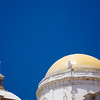 Detail of the dome of Cadiz Cathedral, Spain