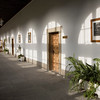 Glazed corridor