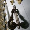 Doorknocker of El Escorial doorway, Spain