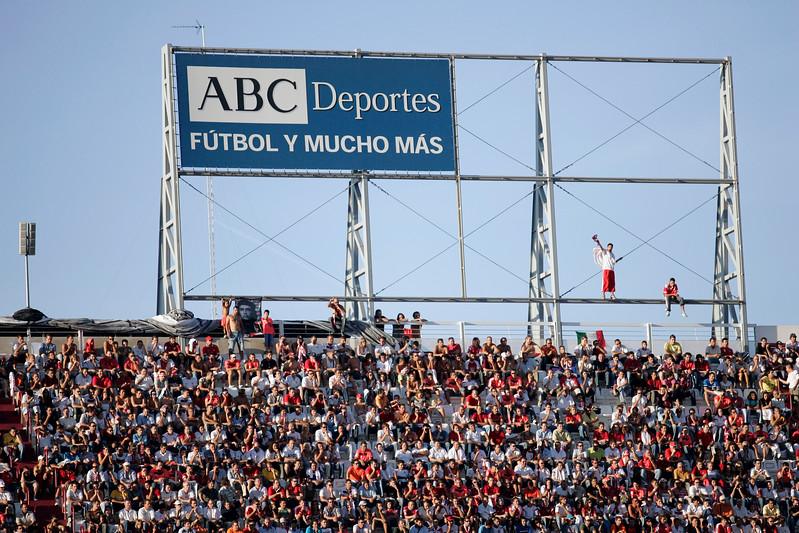 The Top of Sanchez Pizjuan Stadium