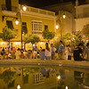 Plaza del Cabildo by Night, Sanlucar de Barrameda, Spain