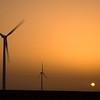 Three-bladed windmills, Spain