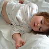 Asleep little girl