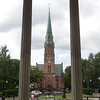 Bell Tower of Paulus Church, Oslo, Norway