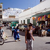 People on Tetouan streets, Morocco