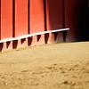 Detail of Real Maestranza bullring, Seville, Spain