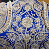 Detail of the back of a bullfighter's dress, Seville, Spain