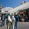People walking on the street, Tetouan, Morocco