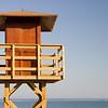 Lifeguard tower, Isla Canela, Spain