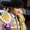 Fernando Robleno, Spanish bullfighter, ready for the paseillo or initial parade
