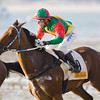 Horse racing on the beach, Sanlucar de Barrameda, Spain