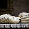 Alabaster tomb and sculpture of Gonzalo de Mena, anonymous work (1401), Cathedral. Town of Seville, autonomous community of Andalusia, southern Spain
