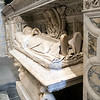 Tomb (16th century) of Don Sebastian del Rio, servant to the popes Julius II and Leo X, Archdeacon Canon of Niebla and Archbishop of Scalas. Cathedral, town of Seville, autonomous community of Andalusia, southern Spain