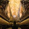 Cathedral's choir, town of Seville, autonomous community of Andalusia, southern Spain