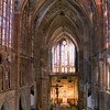 Interior of the Gothic Cathedral, town of Leon, autonomous community of Castilla y Leon, northern Spain