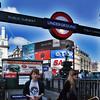 Subway entrance at Picadilly Circus, Westminster, London, England, United Kingdom