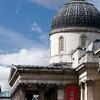 National Gallery on Trafalgar square, London, England, United Kingdom