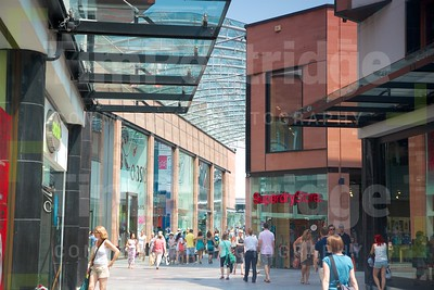 Modern shopping centre, Princesshay
