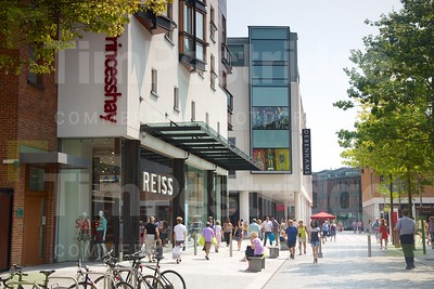 Princesshay shopping in summer