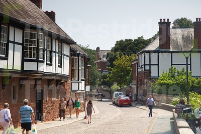 Tudor houses in Exeter