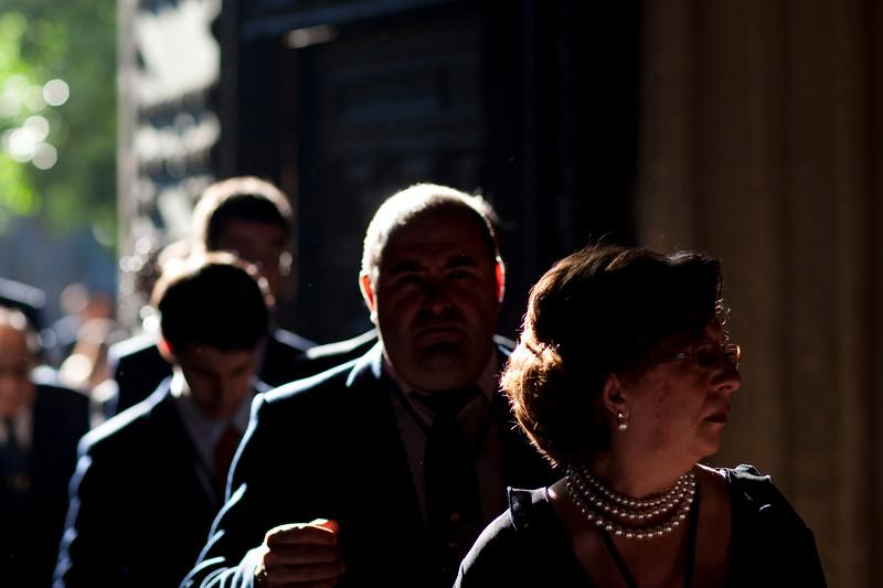 Corpus Christi procession, Sagrario church, Seville, Spain, 2009.