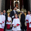 Altar boys, Corpus Christi procession, Seville, Spain, 2009.