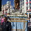 Inmaculada (Virgin Mary), Corpus Christi procession, Seville, Spain, 2009.