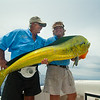 Carter Andrews and Doug Nail with Dolphin